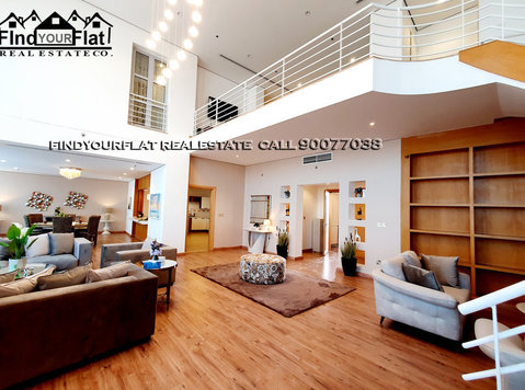 super high quality 4 bedrooms villa duplex furnished - Houses