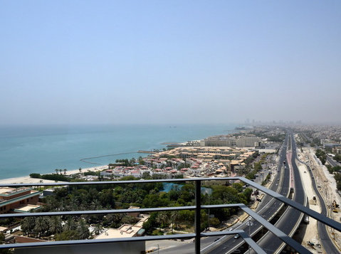 Salmiya Furnished And Seaview 3BHK apartments - Serviced apartments