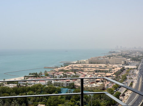 salmiya furnished and seaview 2br apartments - Serviced apartments