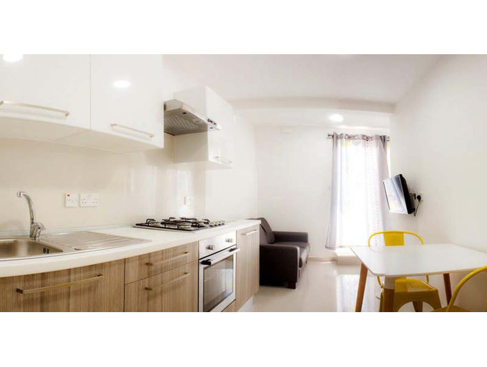 1 bedroom apartment - gzira - €650 - Appartements