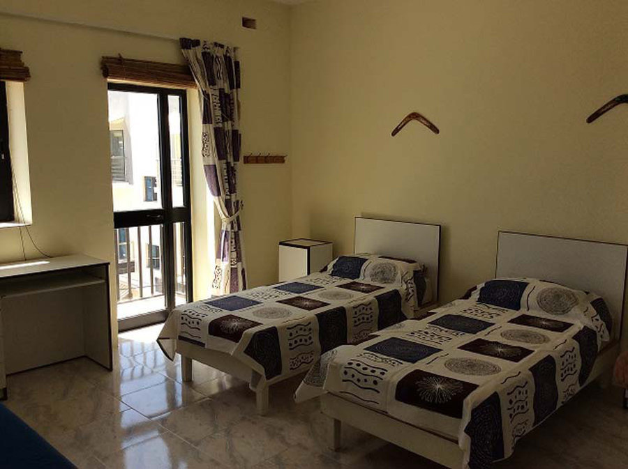 2 bedroom apartment xaghjra 500 for rent apartments in malta for Two bedroom apt in bed stuy area