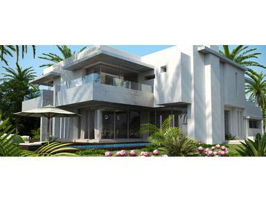 V villa jumelée 500m² à Bouskoura - Talot