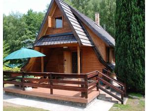 Ferienhaus - holzhaus mieten ostsee Nörenberg-ińsko - Ferienwohnungen