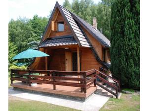 Całoroczny domek nad jeziorem- W Ińskich Parkach Krajobrazow - Ferienwohnungen