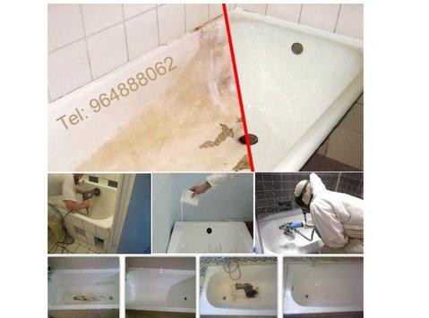 Renovação de banheiras - Apartamentos