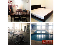 Fully-furnished, 3br/2br/1br Flats In Bin Mahmoud - Apartments