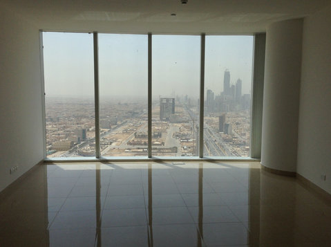 burj bafal 1 bedroom apartment for rent (unfurnished) - 公寓