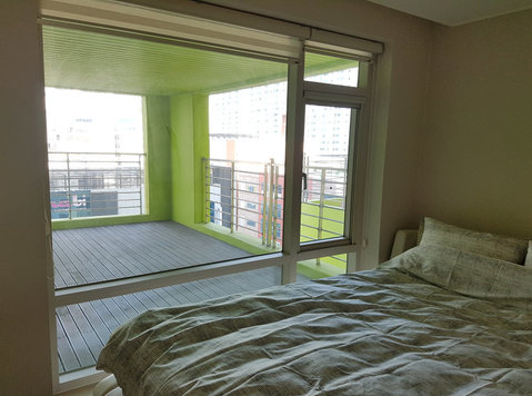 Haeundae 2bd/1bth Terrace 26py 2min from Jangsan metro - Apartments