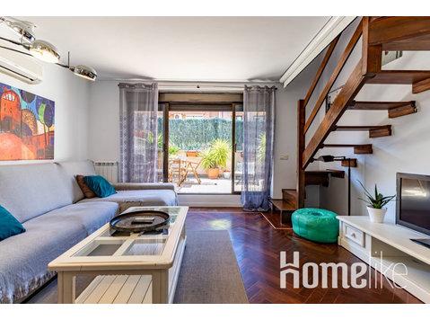 Schöne Maisonette mit Terrasse im Zentrum von Madrid - Wohnungen