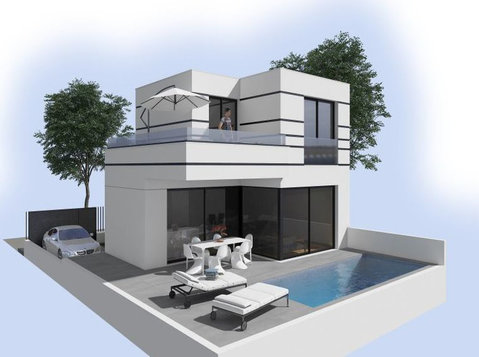New build villas in Dolores, Rojales and Ciudad Quesada - Houses