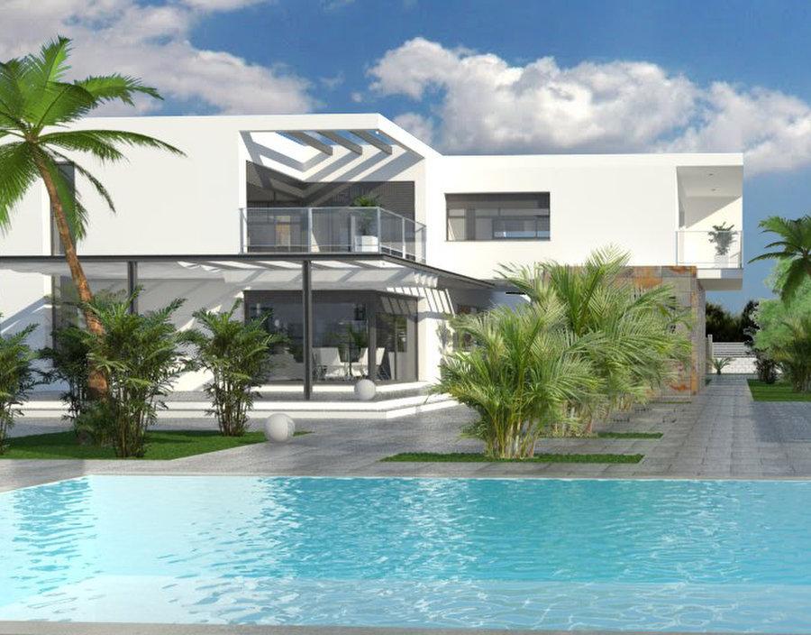 New build villas in dolores rojales and ciudad quesada for Villas valencia