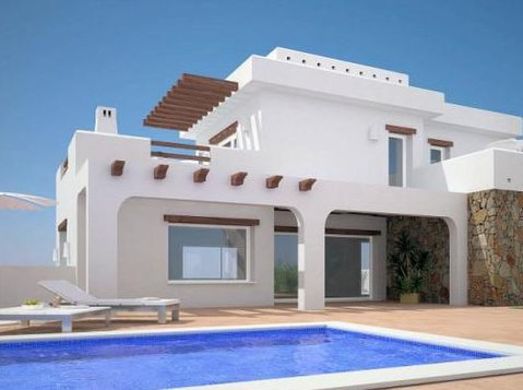 New build villa and plot for sale in Moraira - Houses