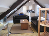 *available Immediate!* Furnished Rooftop Studio with Terrace - Apartments