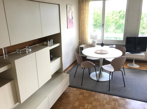 (281) Furnished 2 1/2 BR in Geneva Grand Saconnex **** - Apartman Daireleri