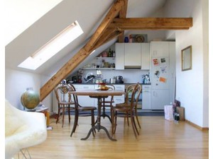 Stunning attic in the center of Zurich available! - Apartman Daireleri