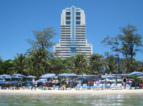 Patong Tower Full Sea View Apartment in Phuket - Aluguel de Temporada