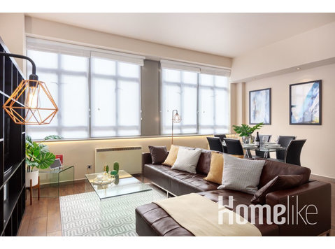 Contemporary & Spacious 1 br 50m2 Apartment in Clerkenwell,… - Apartamente