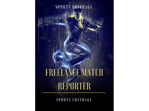 Data Journalist /freelance Match reporters - Sports and Recreation