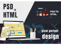 convert your psd to html , xd to html, sketch to html - Web design