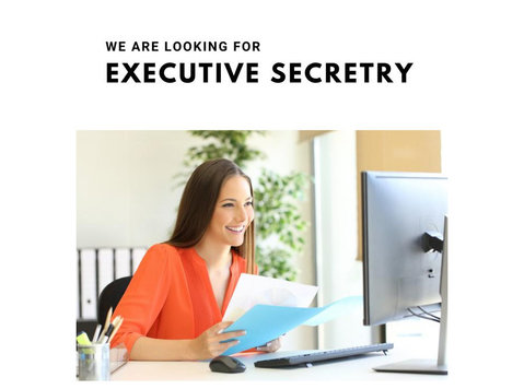Executive Secretary (male or Female) Required - Services administratifs