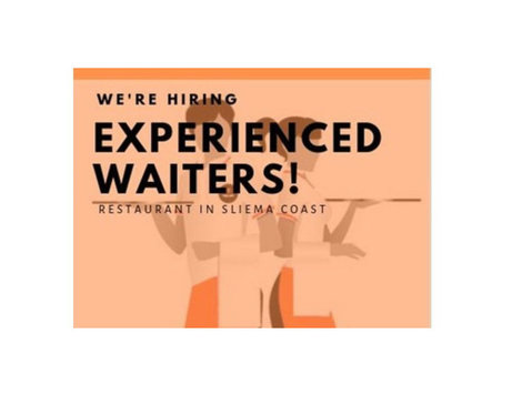 Experienced Waiters (with very good English & Spanish) - ברמנים