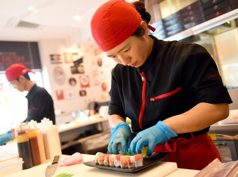 Sushi Chef for modern Japanese Sushi outlets in Malta - Restaurant og levnesmiddelservices