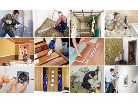Pedreiro, Canalizador, Ladrilhador, Pintor, Carpinteiro, . - Instalação e Manutenção de computadores