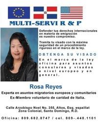 Rosa Reyes Asesoría Consular