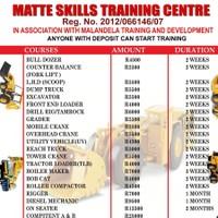 Matte Training