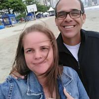 Arnaldo e Édina José de Souza