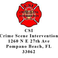 CSI CrimeIntervention