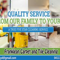 franklean carpe tile cleaning
