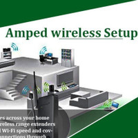Setup Amped  Wireless Router