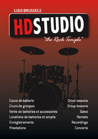 HD Studio Drum hamesse